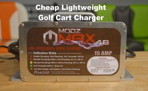 Video MODZ MAX 36 - 48 Volt Golf Cart Battery Charger