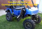 Yamaha G2 Golf Cart Custom Build With Predator 420