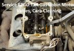 Service EZGO TXT Gas Robin Motor Valves Carb Cleaning