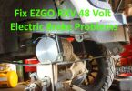 Fix and replace EZGO RXV 48 Volt Electric brake