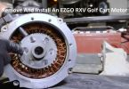 How To Remove And Install An EZGO RXV Golf Cart Motor