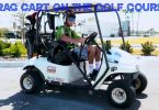 Drag Racing Golf Cart EZGO