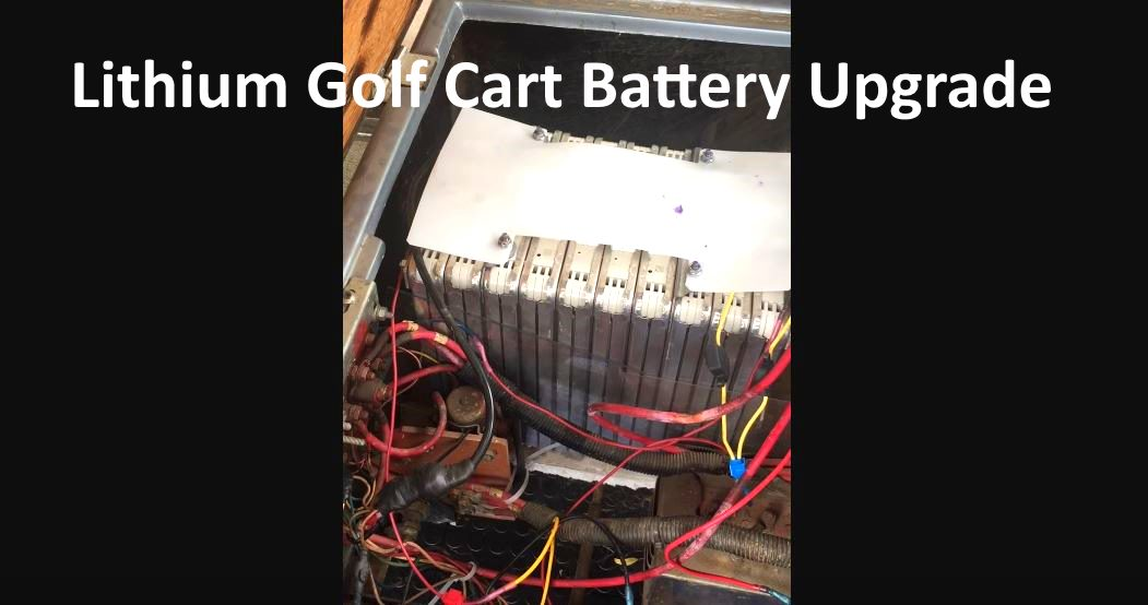 Nissan Leaf Lithium Ion Batteries In 1988 Western Golf Cart