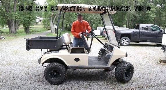 Club Car DS Service Maintenance Video