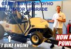 Golf Cart Tested On Dyno With Motor Upgrade