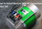 How To Install Navitas 5KW AC Conversion Kit EZGO TXT