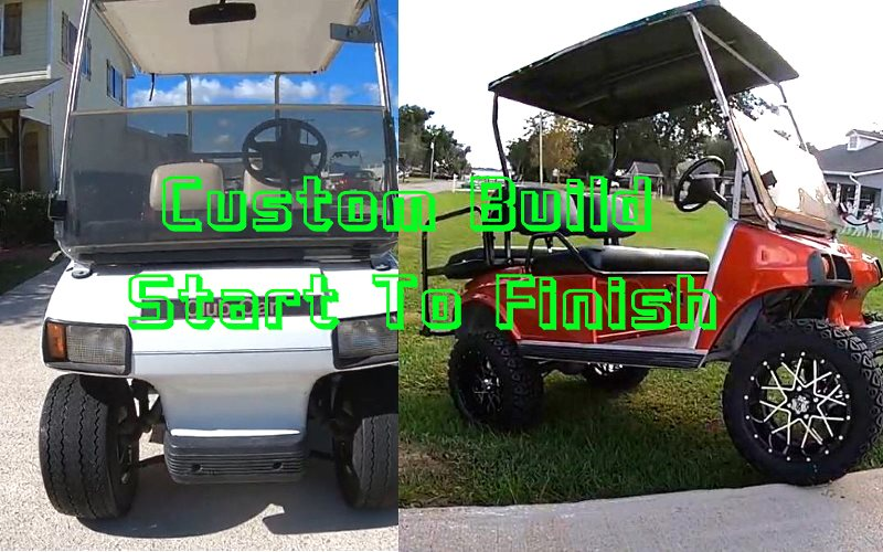 Golf Cart Makeover Custom Build Start To Finish